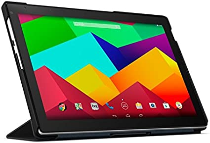 BQ Duo Case - Funda para Tablet Aquaris E10, Color Negro: Amazon.es: Informática