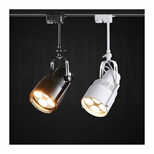 Plafondlamp 1 stuk Nordic Retro LED Track Light 25 W 35 W Industriële LED Trail Spotlight Vintage Kleding Bar Track…