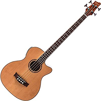 Redwood AB-30 bajo acústico guitarra - Natural: Amazon.es ...