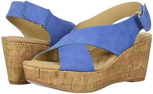 ensueño Blue nobuck Dream Girl Laundry CL Mujer de de Nubuck by Sandalia Chica Denim Chinese cuña azul para 1wq4aRa0