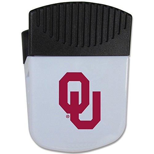 Siskiyou NCAA Oklahoma Sooners Chip Clip Magnet, White