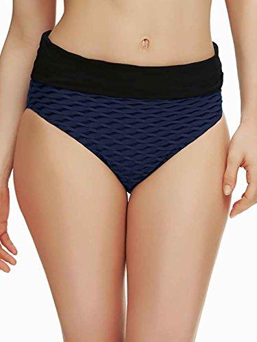 ld-Over Bikini Bottom, XL, Nightshade (Fold Bottom)