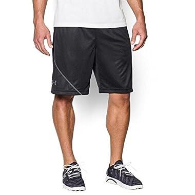 Under Armour Men's UA Quarter Shorts MD x One Size Black (MEDIUM, Black/Steel/Black)