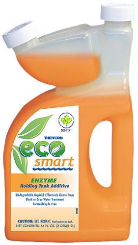 Waste Digester (Eco Smart Enzyme RV Holding Tank Deodorant - Waste Digester - Detergent - 64 oz - Thetford 32948)
