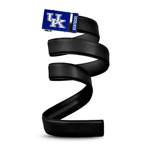 - NCAA Kentucky Wildcats Mission Belt, Black Leather, Custom (up to 56)