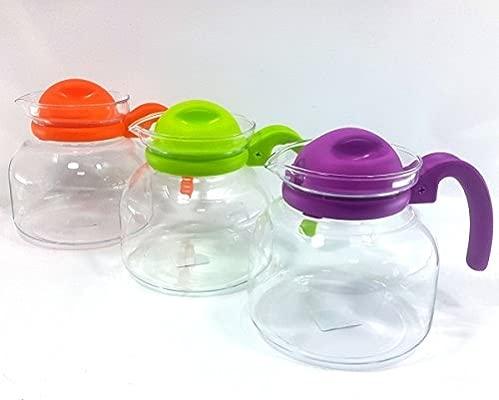 Tetera para microondas de 1,5 litros: Amazon.es: Hogar