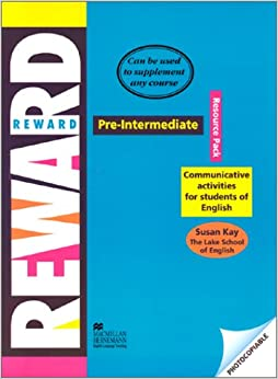 Book Reward - Resource Pack - Pre Intermediate - Communicative Activities for Students of English (Young Adult/adult Courses)