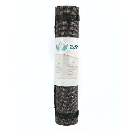 Zen Active Non-Slip Yoga Mat - Extra Thick 1/4