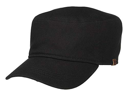 - Kangol Unisex Washed Army Cap Black LG/XL (7 1/4-7 5/8)