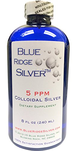 Blue Ridge Silver - 5 ppm 8 oz Colloidal Silver