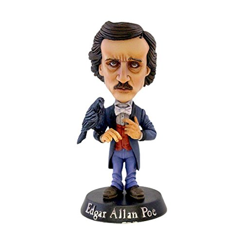 Edgar Allen Poe Collectible: Handpicked Drastic Plastic 2015 Hand-Numbered Limited Edition Bobblehead