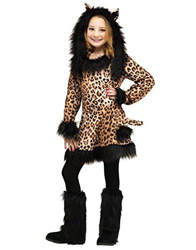 Natural Leopard Child Costume (Medium)