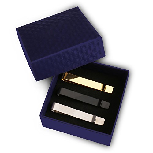 Very stylish tie clip!  great value for 3 tie clips