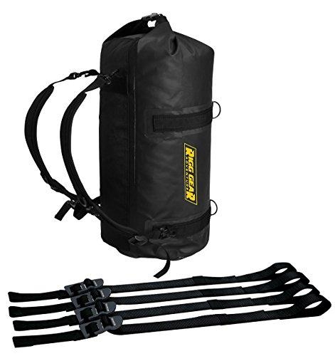 Motorcycle Duffle Bags - Nelson-Rigg SE-1030-BLK 30 L Ridge Roll Dry Duffle Bag, Black, 30L