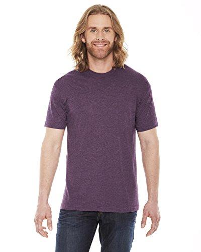 American Apparel Men's Poly-Cotton Short Sleeve Crew Neck free shipping
