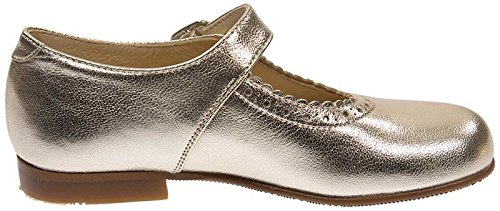 Panache Kids Mary Jane Traditional Girls Shoe Gold 9grYJJ9MyW