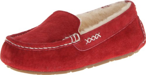 - Old Friend Women's Bella Moccasin, Ruby Red, 8 M US