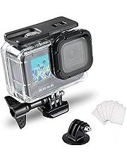Waterdichte Case voor Gopro Hero 9 Accessoires, Onderwater Duiken 50 M/164FT Beschermende Behuizing Shell voor Go Pro Hero9 Actie Camera met Beugel Accessoires
