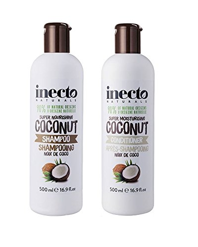Inecto Pure Coconut Shampoo + Conditioner Keyline Brands limited 3951274XKIT