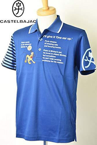 人気提案 [カステルバジャックスポーツ] ゴルフ 半袖ポロシャツ ディズニー L(48) トップス メンズ L(48) ゴルフ ブルー(57) B07Q6BLMMZ B07Q6BLMMZ, ダイトウシ:7fc40c61 --- mvd.ee
