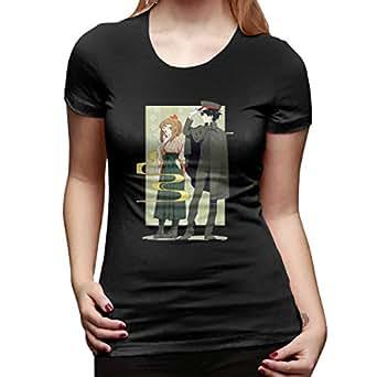 UXUEYING My Hero Academia Boku No Hero OCHACO URARAKA Deku T-Shirt Blouses Women Short Sleeve Tops Black