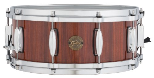 Gretsch Drums Gold Series S1-5514-RW 14-Inch Snare Drum, Gloss