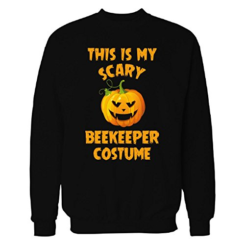 This Is My Scary Beekeeper Costume Halloween Gift - Sweatshirt Black 4XL