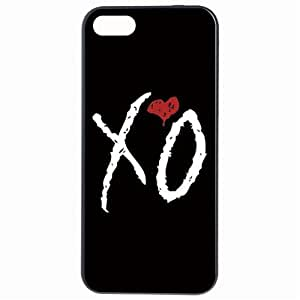 Fashion The Weeknd XO Red Heart Plastic Hard Case Cover Back Skin Protector For Apple iPhone 5 5G by Alexism
