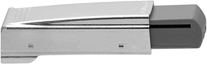 Blum 973A0500.01x5 973A Blumotion Straight Arm Full Overlay Hinge for Doors Nickel Finish Pack of 5