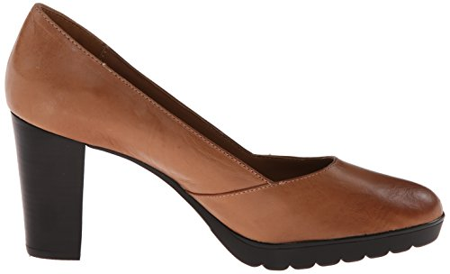 Bella Vita Womens Zari Leather Platform Pump Camel Leather Z3SxKb