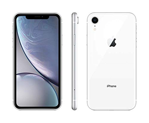 Apple iPhone XR, Boost Mobile, 64GB - White (Renewed)