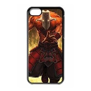iPhone 5c Cell Phone Case Black Defense Of The Ancients Dota 2 JUGGERNAUT 004 PD5402598