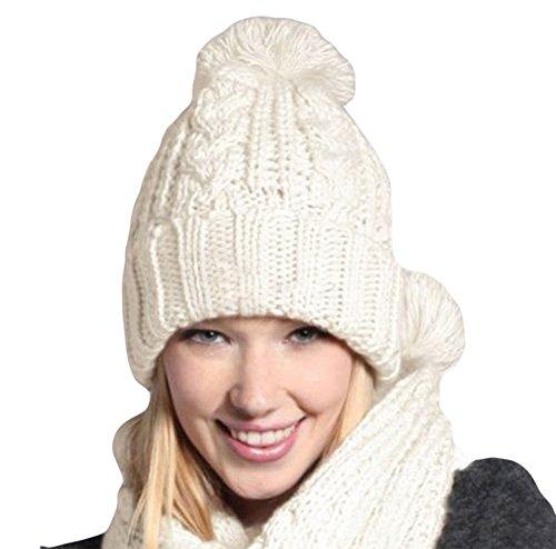 donne Da inverno e le in sciarpa per WA autunno set cappello Black tTwTvr