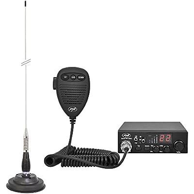 Radio PNI ESCORT 8000L Asq with Antenna ML100 Cigarette Lighter Plug Included