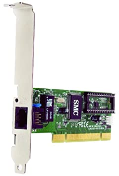 Smc wired ez card pci card smc1255tx-2 10/100 mbps brand new.