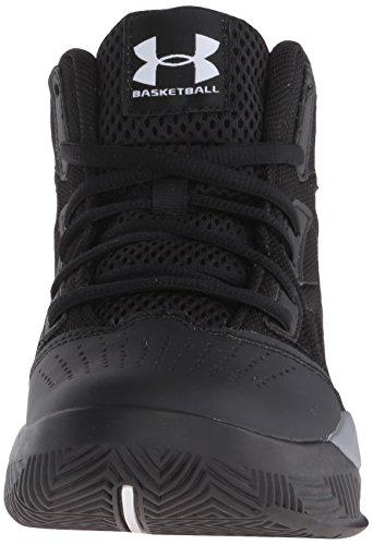 Under Armour Ua Bgs Jet Mid, Zapatillas de Baloncesto para Niños Negro (Black 001)