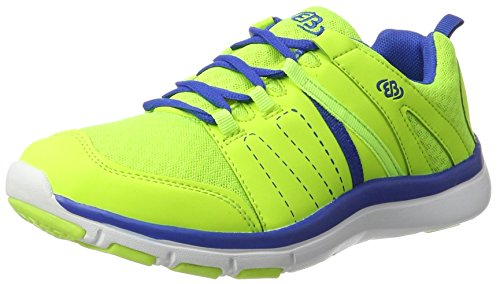 Bruetting Crater, Zapatillas Unisex Adulto Amarillo (Lemon/blau)