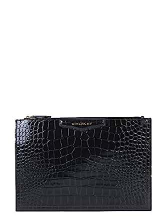Luxury Fashion | Givenchy Womens BB609CB0LK001 Black Clutch | Season Permanent