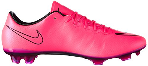 Nike Herren Mercurial Vapor X Fg Fußballschuhe Pink (Hyper Pink/Hyper Pink-Blk-Blk)