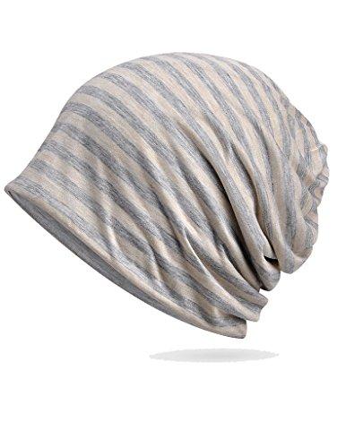 Luccy K Womens Cotton Beanie Lightweight Turban Slouchy Hat Cap