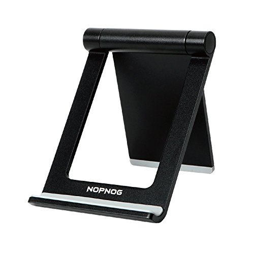 NOPNOG Cell Phone Stand for Desk Lightweight Multi-Angle Adjustable Mount Holder for iPhone X,8,8plus,7 Plus Samsung Galaxy S7/ S8 Google Nexus, Lumia, Tablet iPad (Compare Moto X And Google Nexus 5)