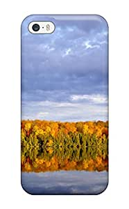 For Iphone 5/5s Protector Case Reflection Phone Cover