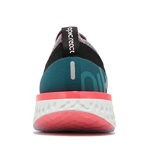 Gunsmoke Femme de Multicolore White WMNS Teal Running 010 Nike Chaussures Compétition Epic React Geode Black Flyknit 41n8qv