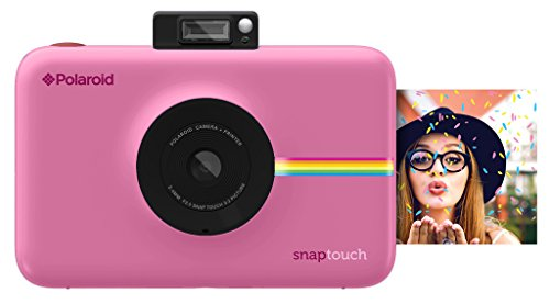 Polaroid Snap Touch Instant Print Digital Camera With LCD Display (Pink) with Zink Zero Ink Printing Technology