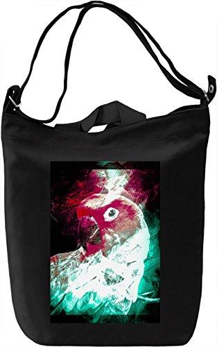 Colourful Parrot Borsa Giornaliera Canvas Canvas Day Bag| 100% Premium Cotton Canvas| DTG Printing|