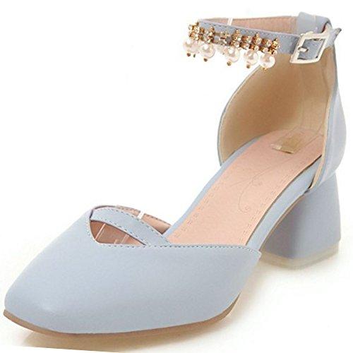 Doux Fleur With Sandales Zanpa blue Femmes 2 BwZq0075