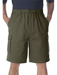 "Men's Big & Tall 9"" Renegade Cargo Shorts With Full Elastic Waist"