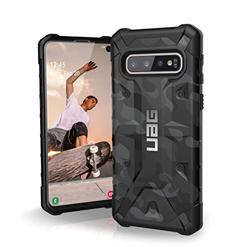 URBAN ARMOR GEAR UAG Designed for Samsung Galaxy S10 [6.1-inch Screen] Pathfinder SE Camo [Midnight] Military Drop Tested Phone Case