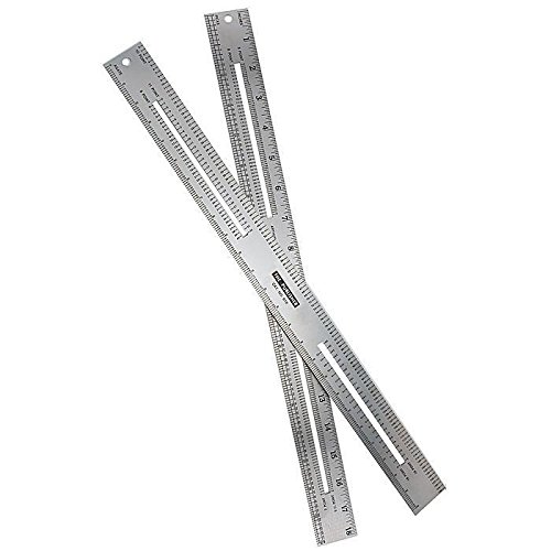 Gaebel Series 616 two-sided - Pica Ruler