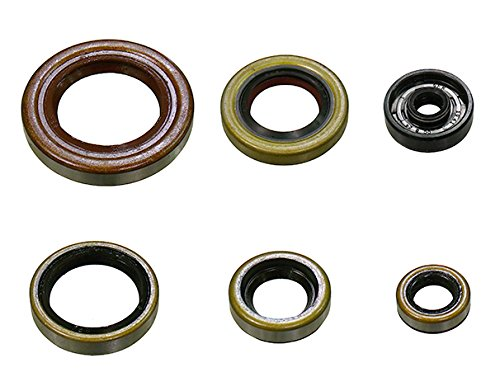 Outlaw Racing OR3496 Engine Oil Seal Kit Husqvarna TC125 KTM 125EXC 125SX 144SX 150SX 150XC 200EGS 200EXC 200SX 200XC//W